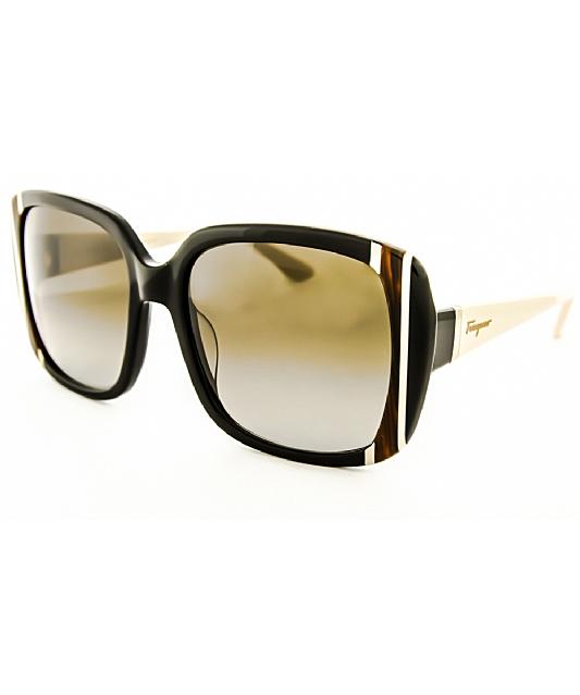 fc02b2b7e3 Salvatore Ferragamo Women  39 S Sf672 Sunglasses  In Tortoise Tan Brown
