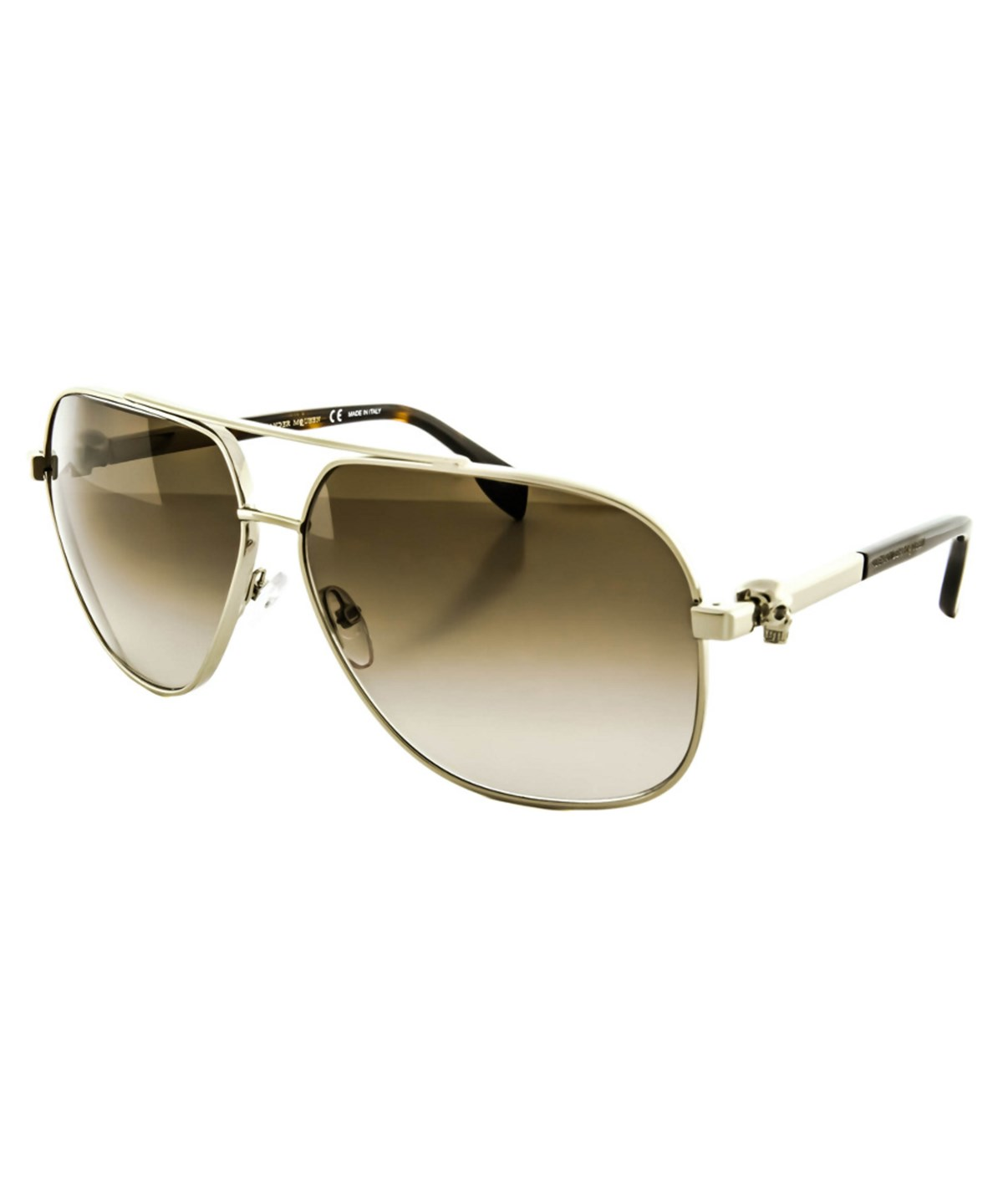 ALEXANDER MCQUEEN Women'S Am0019S Sunglasses' in Gold