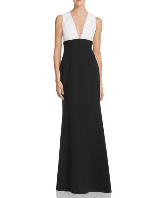 JILL JILL STUART COLOR BLOCK GOWN ab1c9cc11