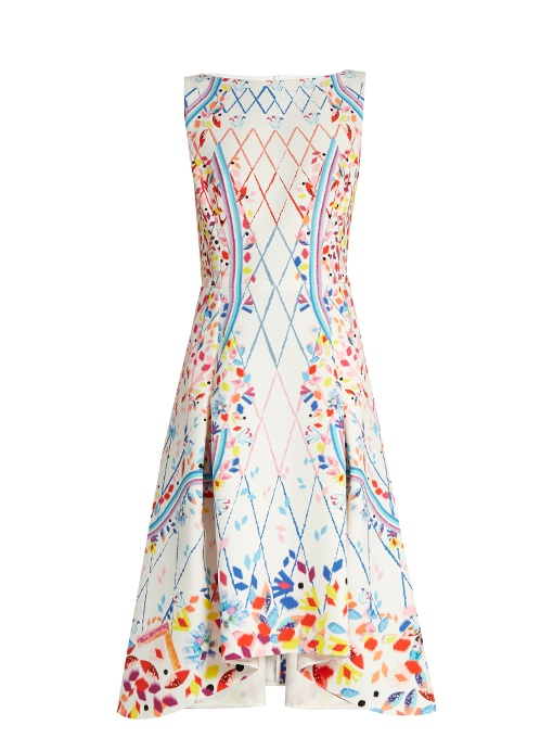 Amazon Sale Online Marketable Online Peter Pilotto Printed Sleeveless Dress Low Shipping Fee Sale Online Release Dates Sale Online Amazing Price L9igAU