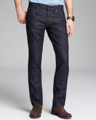 J Brand Kane Slim Straight Fit Jeans In Boones Wash, Raw