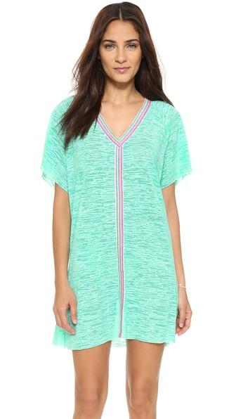 PITUSA Mini Abaya Dress in Mint