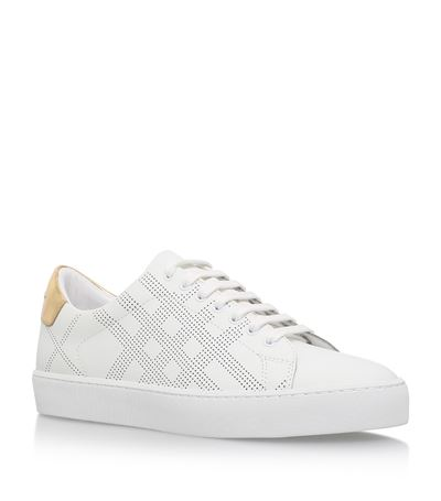 Westford perforated sneaker Burberry rAsyFchQQ