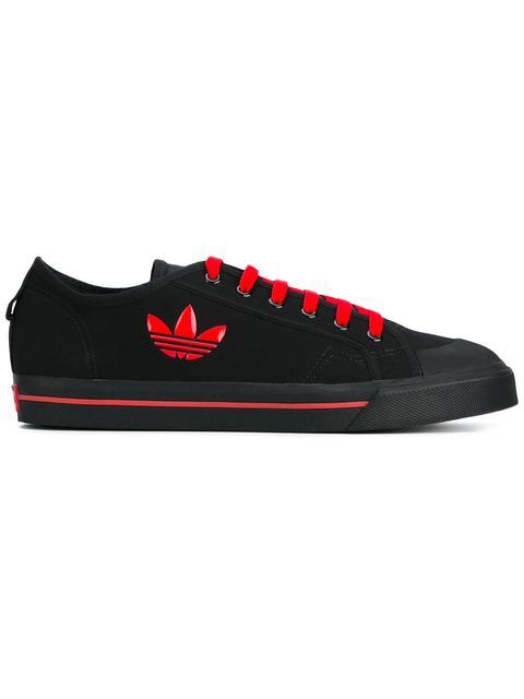 Adidas By Raf Simons Raf Simons X Adidas 'Matrix Spirit' Sneakers - Black
