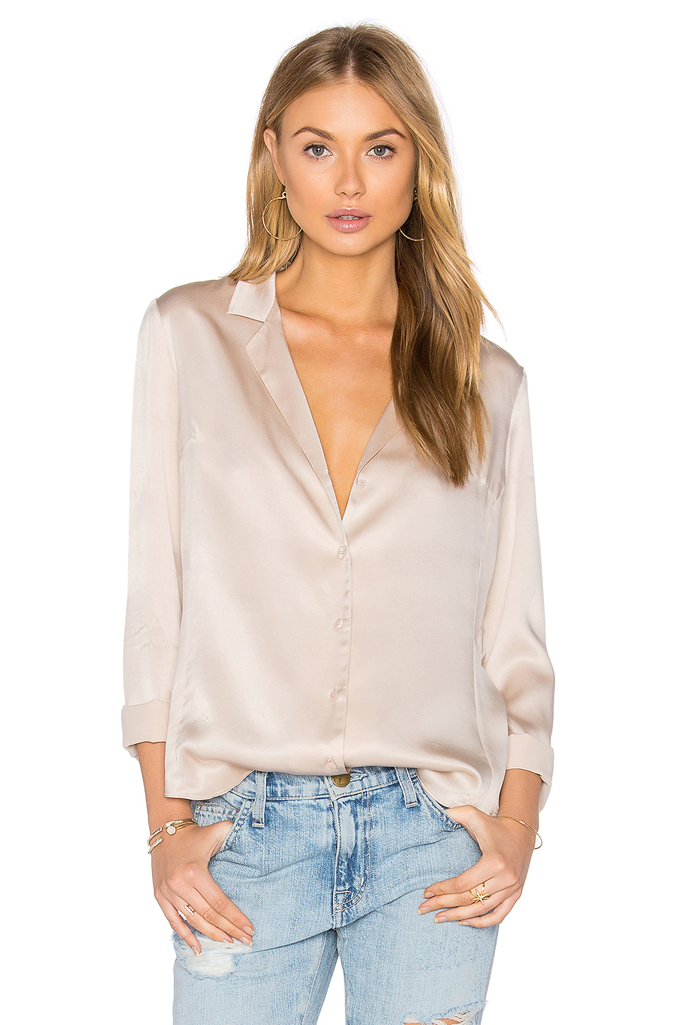 Yvonne Top in Blush