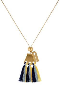 Janis Fringe Bangle Charm Bracelet in Multicolour