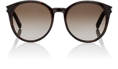 35cd0a9c9b0e0 SAINT LAURENT OVAL PLASTIC SUNGLASSES