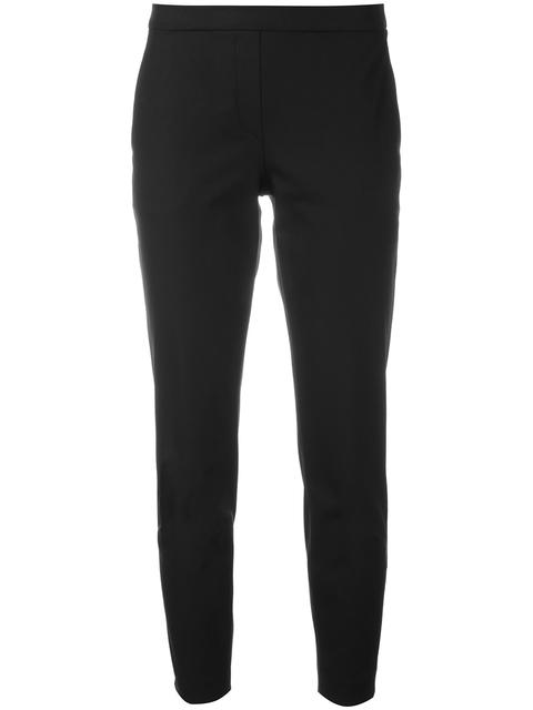 'Navalane Becker' Stretch Ponte Skinny Pants in Black