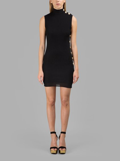 Balmain ribbed knit dress Buy Cheap Sale Really Cheap Shoes Online Store The Cheapest For Sale Outlet Great Deals ah0za7HoP