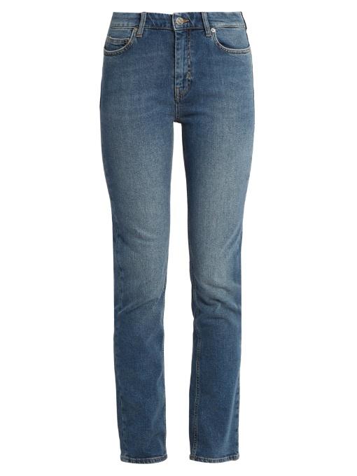 Mih Jeans Daily Split Jeans - Blue