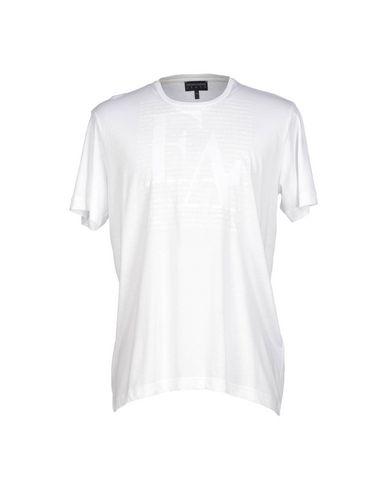 EMPORIO ARMANI Slim Fit Stretch Crewneck T-Shirt in Solid White