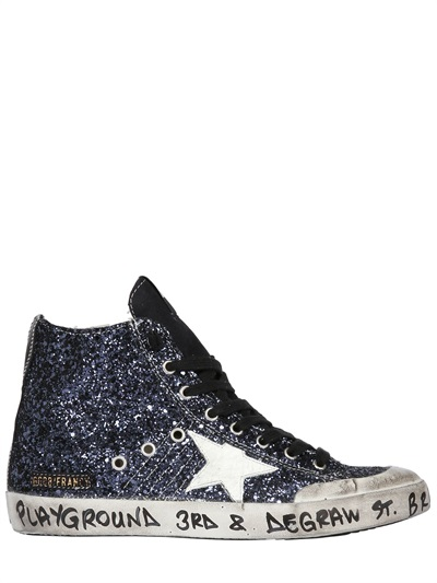 Golden Goose Brooklyn Playground Francy Glitter Sneakers Free Shipping Low Price Fee Shipping 6B79PBIC