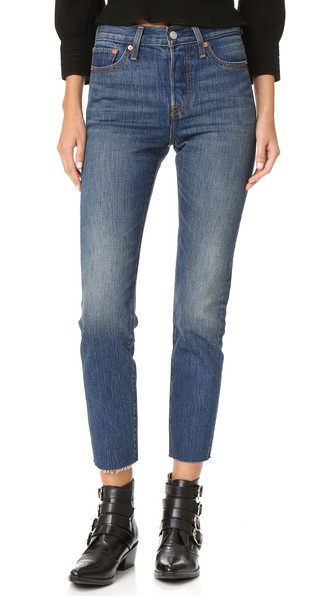 Wedgie Icon Jeans, Classic Tint
