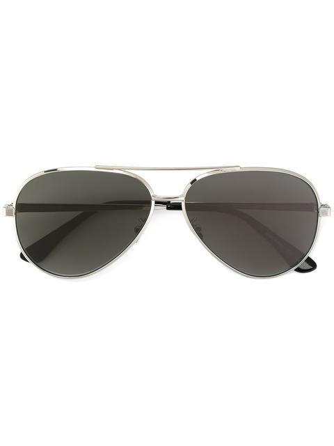 Classic 11 Zero 60Mm Aviator Sunglasses, Black