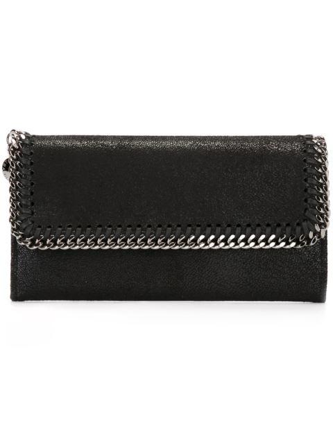 Falabella Continental Wallet in Black