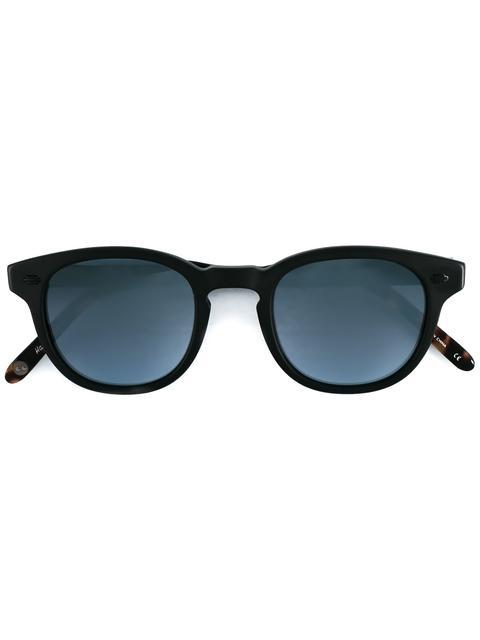 GARRETT LEIGHT 'Warren' Sunglasses in Black