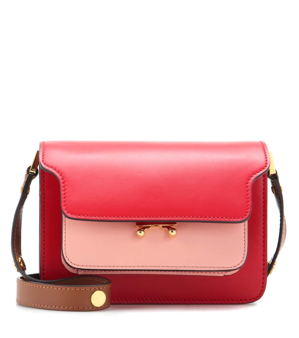 Outlet Best Seller Low Shipping Fee For Sale Medium Trunk shoulder bag - Red Marni h6RprTG