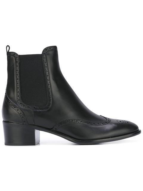 UNÜTZER Unützer Low Chelsea Boots - Black
