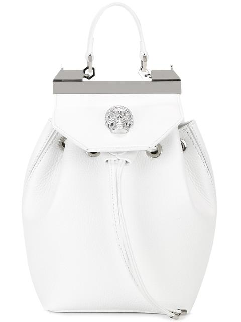 PHILIPP PLEIN 'Orchid' Backpack in 01K