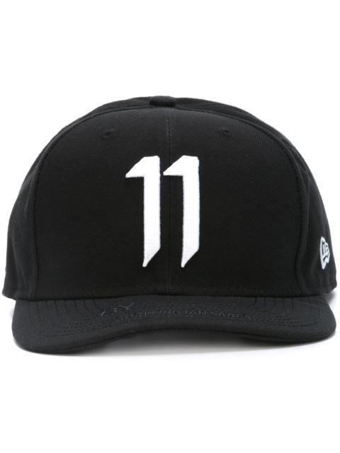 Embroidered Logo Cap, Black