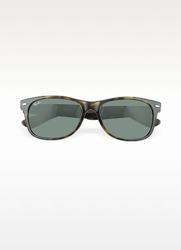 Ray-Ban Wayfarer Tortoise Sunglasses, Polarized - Rb2132 in Brown from Sunglass Hut