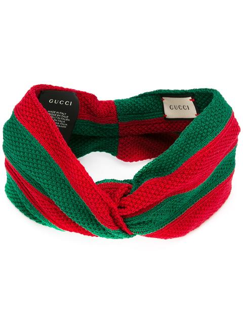GUCCI KNITTED STRIPED HEADBAND  2ba59412c66