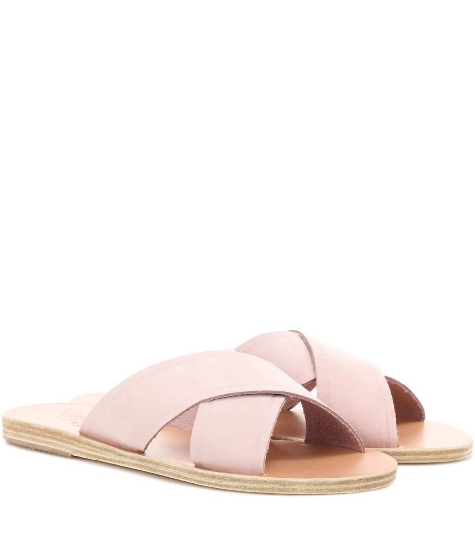 Marketable Online Ancient Greek Sandals Suede Slide Sandals Clearance Best Wholesale Sale Inexpensive Shop Cheap Online XV5q4CxQlr