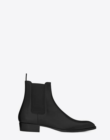 Wyatt Velvet Chelsea Boots - Black Size 7 M