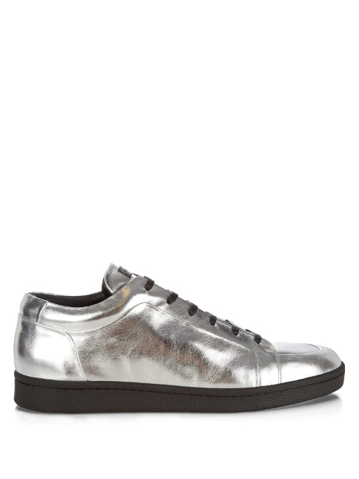 2f8c1d75ee36 BALENCIAGA Urban Low-Top Leather Trainers