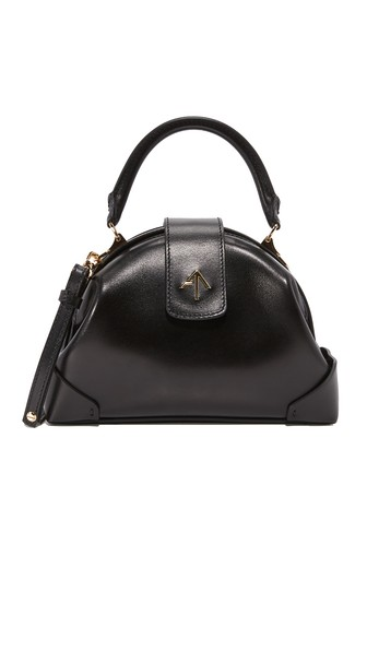 Demi Top Handle Bag, Black