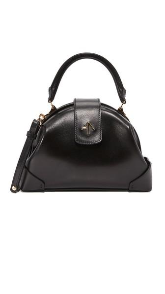 Demi Top Handle Bag in Black