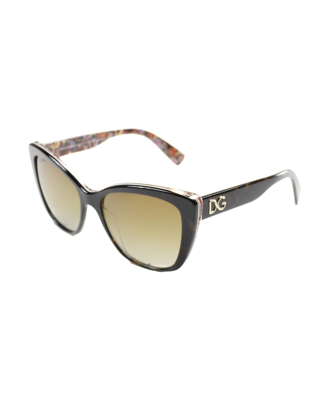 236a195983c Celine Adele Shield Plastic Sunglasses In Dark Havana