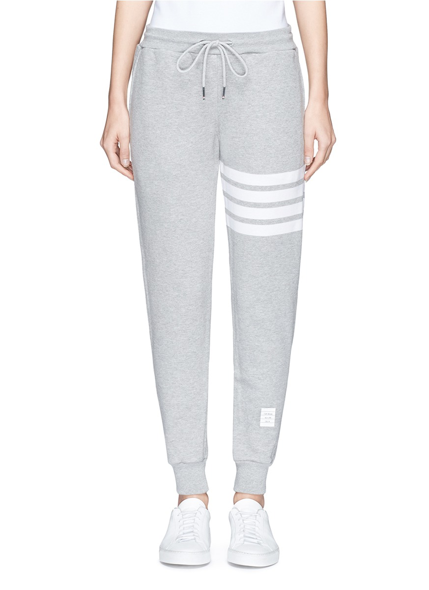 Classic Sweatpants In Classic Loop Back With Engineered 4-Bar, Grey