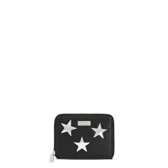 Stella Mccartney Small Stars Wallet - Black