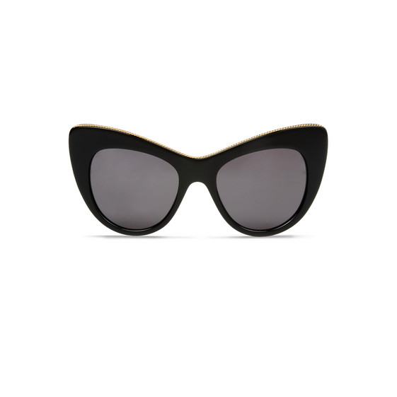4ca474862e1 Stella Mccartney Black Cat-Eye Sunglasses