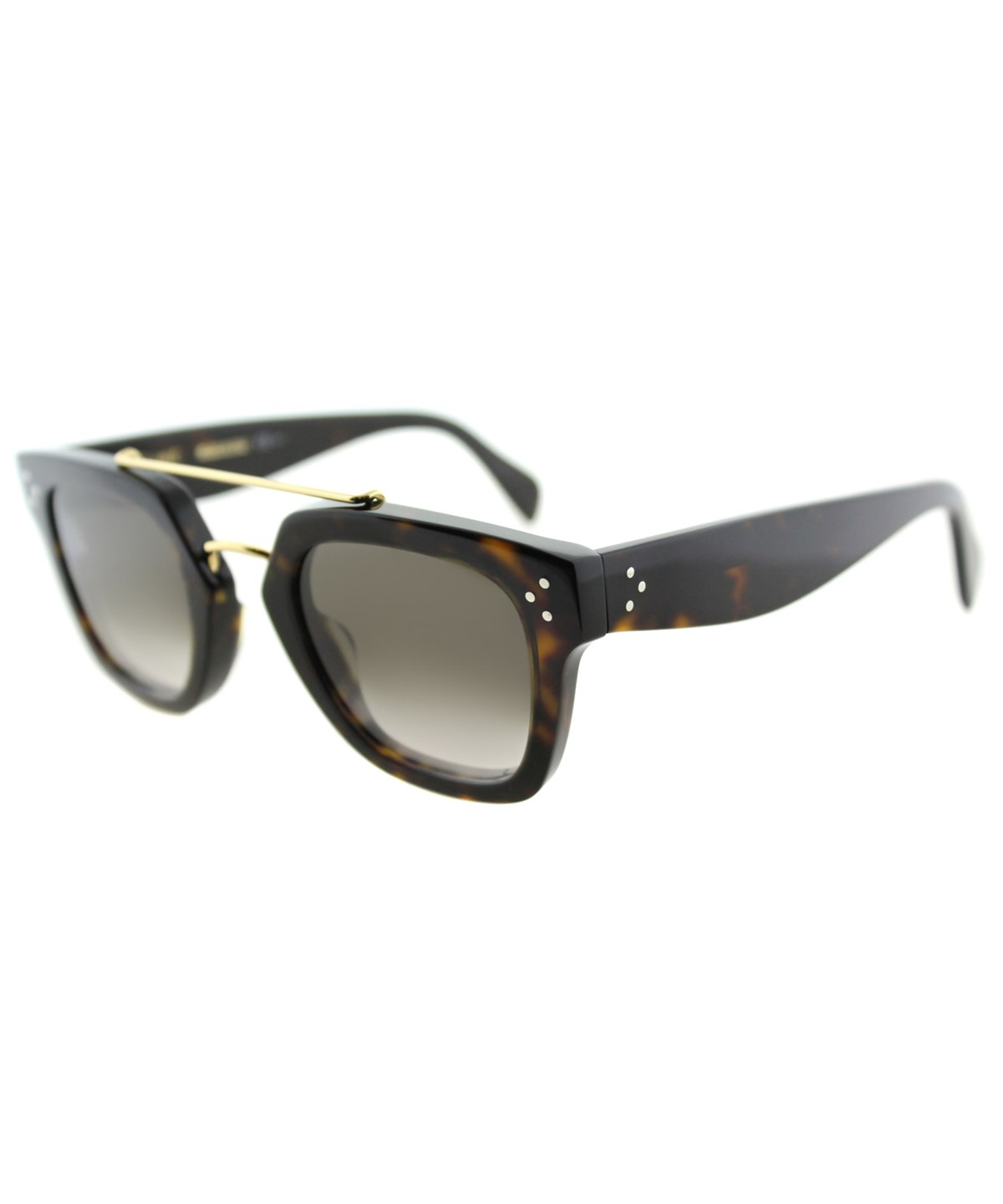 be84cd5e09e CELINE SQUARE PLASTIC SUNGLASSES