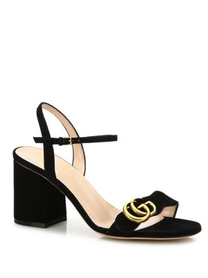 a249e6b18b3 Gucci 75Mm Marmont Gg Leather Sandals