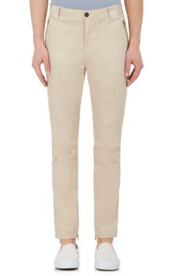Zipped-hem slim-leg corduroy trousers ATM Anthony Thomas Melillo a8KNvvb