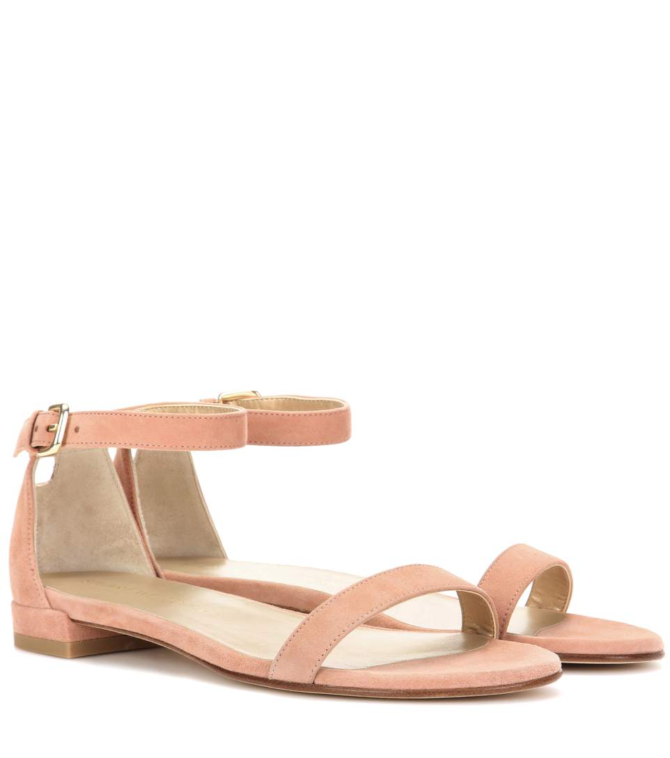 Stuart Weitzman Nudistjune Leath... free shipping amazing price for sale for sale cheap explore sale new cheapest price cheap price rrds3nN6