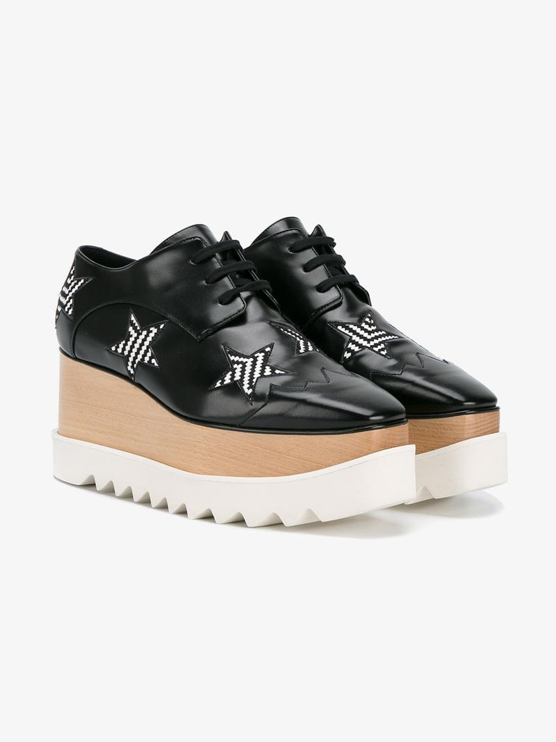 Women'S Classic Lace Up Laced Formal Shoes Elyse Star Oxford, Black