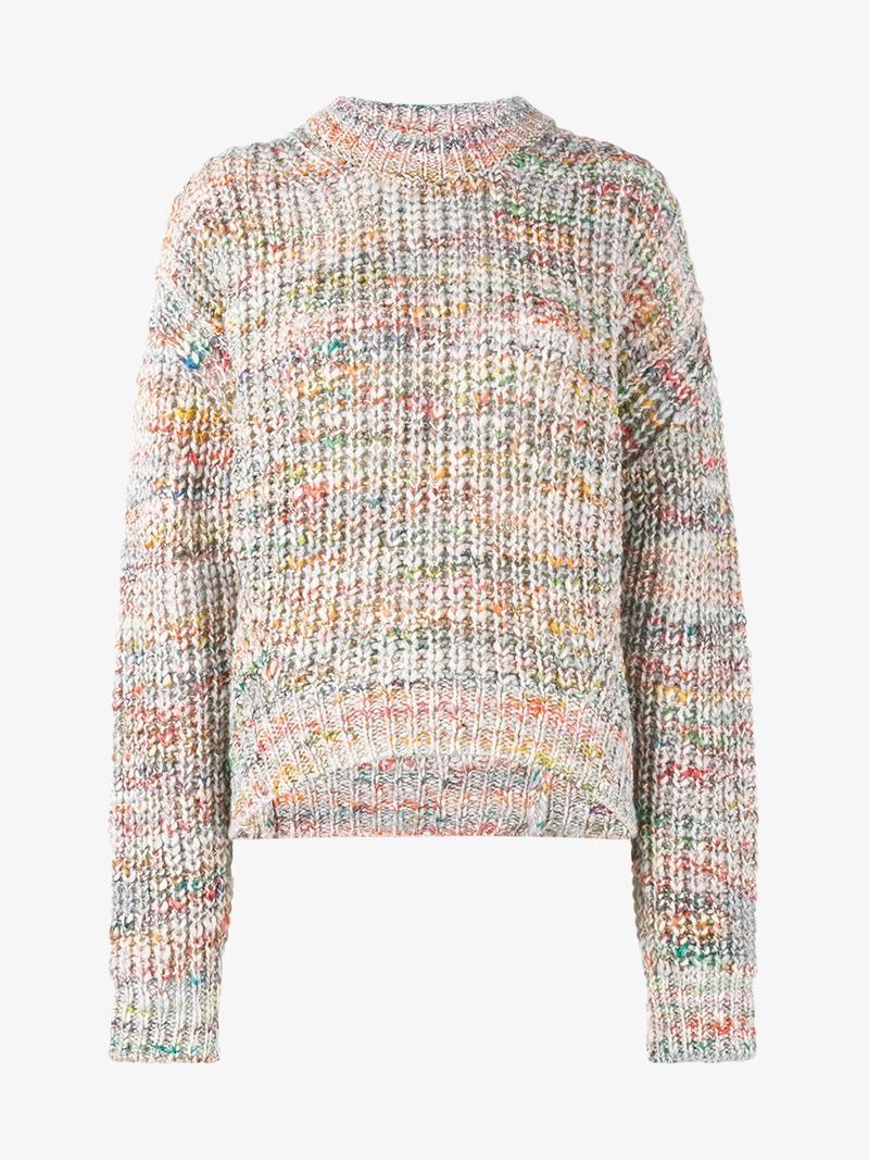 Zora Chunky-knit Sweater - Ecru Acne Studios