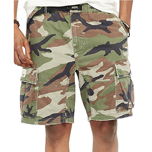 Polo Ralph Lauren Denim   Supply Ralph Lauren Men S Camo Twill Cargo Shorts 9296f9e040ab0