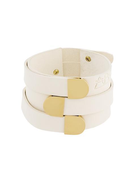 ABSIDEM Absidem Shirley Bracelet - Neutrals in White