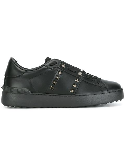 Sneakers Rockstud Untitled 11. Lace Up Sneakers With Maxi Metal Studs in Black