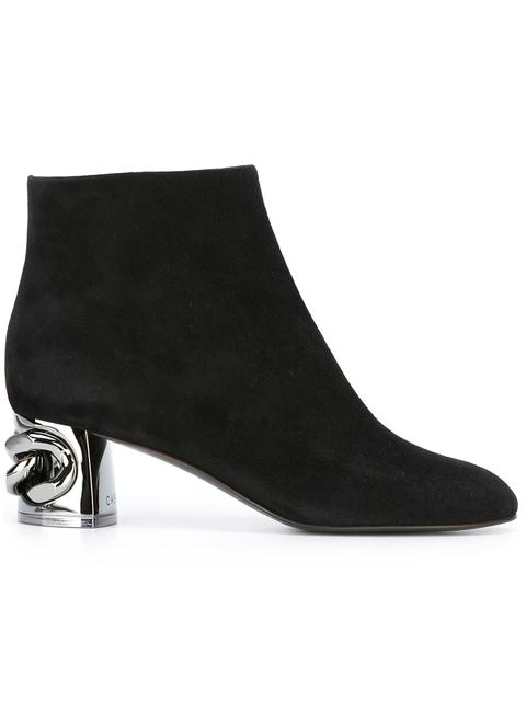 Maxi Chain Ankle Boots Black from CASADEI