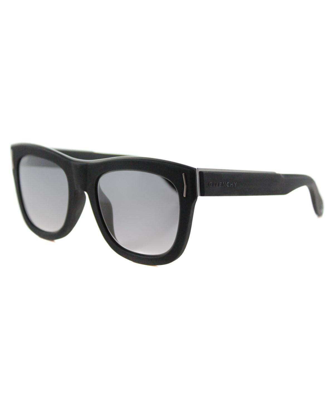 Givenchy Rectangle Plastic Sunglasses', Black Grey
