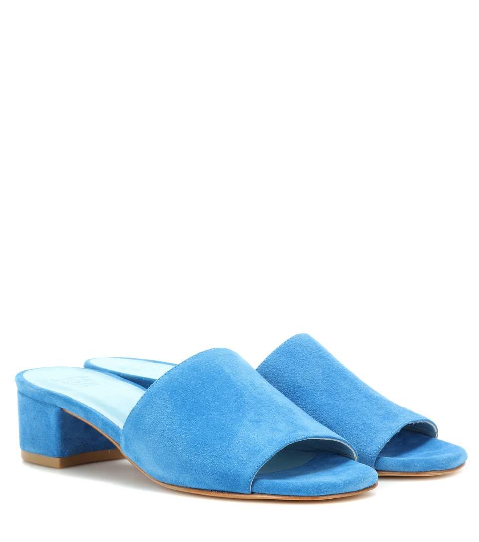 MARYAM NASSIR ZADEH Sophie suede slip-on sandals lSE63QeU