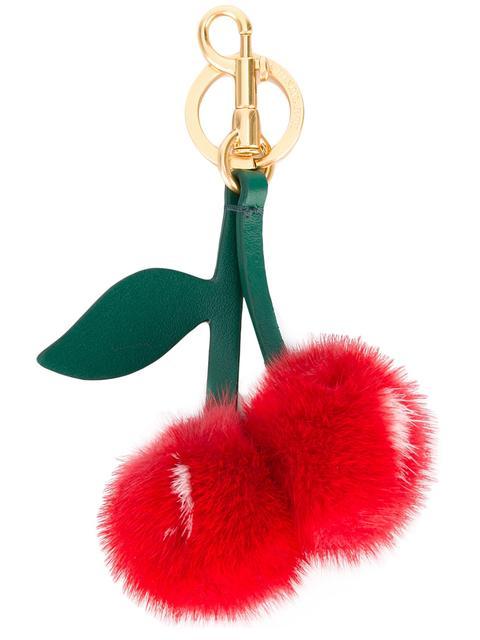 Anya Hindmarch Tassel Cherry Key Chain adrPeK