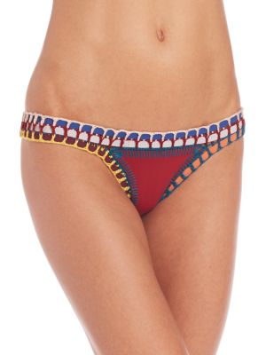 KIINI Soley Bikini Bottoms in Red
