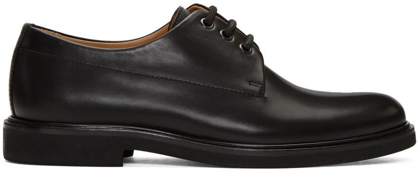 de6446ba02e0 A.P.C. Gustave Leather Derby Shoes in Noir
